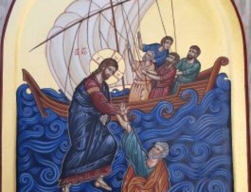 Herre Kristus frels mig Malet til Biskop Marianne Gaarden Str. 35-47 cm
